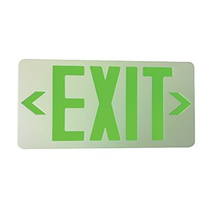 AELEXG2W-LED – LED EMERGENCY LIGHTS exit sign, 2watts led, Single Face / Double Face 3.6V 650mAh Ni-cd battery, Charging time <24hrs. Operating time 90 mins. GREEN